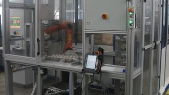 Prüfanlage Inspektion Verdichterräder Octum GmbH