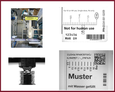 Position and printing of labels