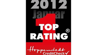 Top Rating in der Bonitätsbewertung 2012