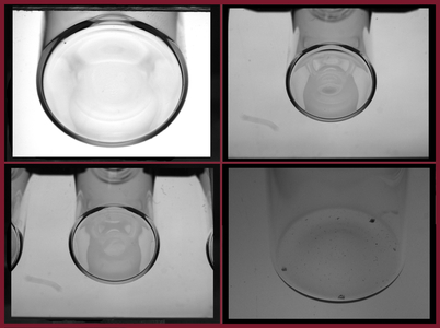 Empty glass inspection