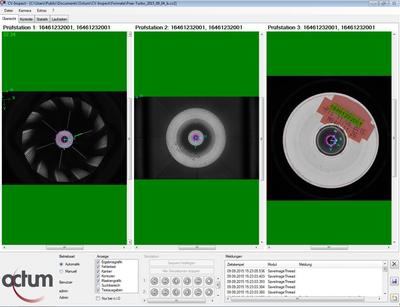 Final inspection compressor wheels Octum GmbH