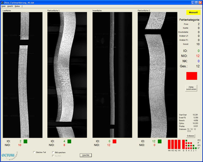 Visual inspection Octum GmbH