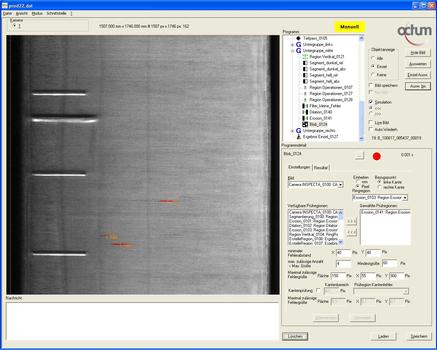 2D Oberflächeninspektion Tiefziehteile Octum GmbH