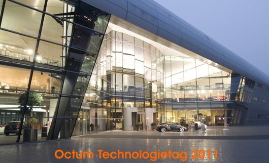 Octum Technologietag 2011 im Audiforum