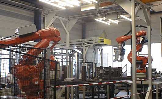 Robotik Teileerkennung