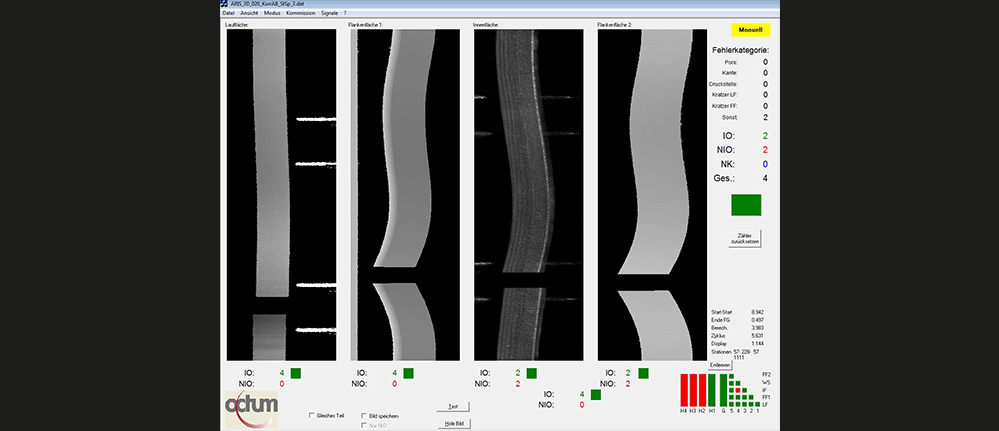 3D piston ring surface defect inspection