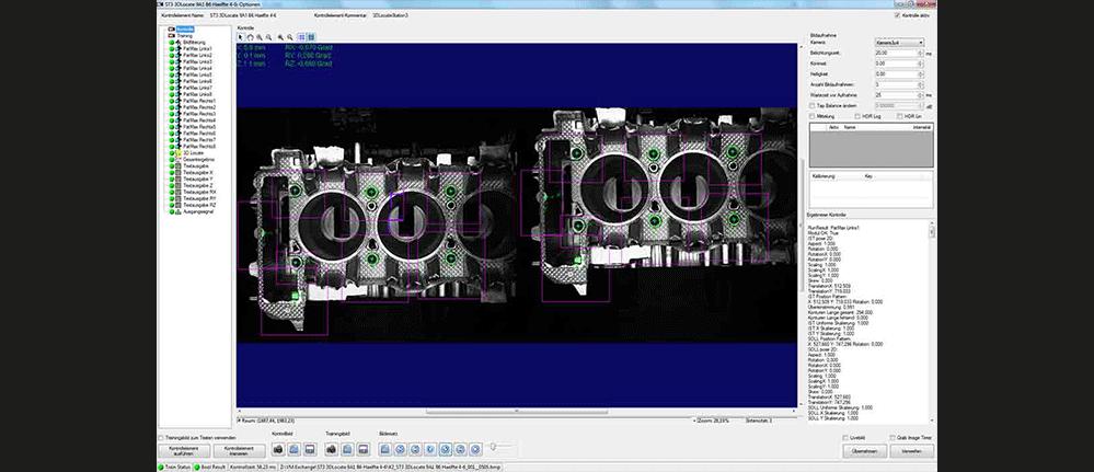 3D Roboterführung Systemsoftware
